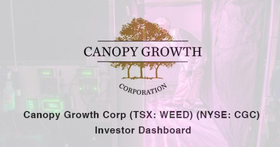 Canopy growth corp stock