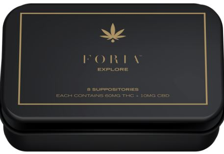 Foria Explore Suppositories