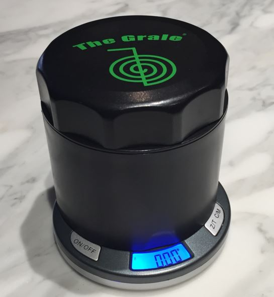 Cannabis Entrepreneur Combines Grinder With Scale New