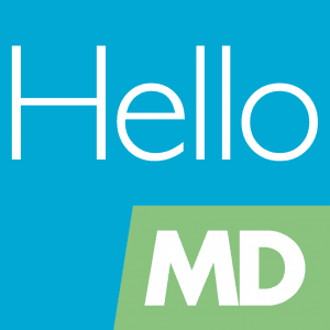 Hello MD logo