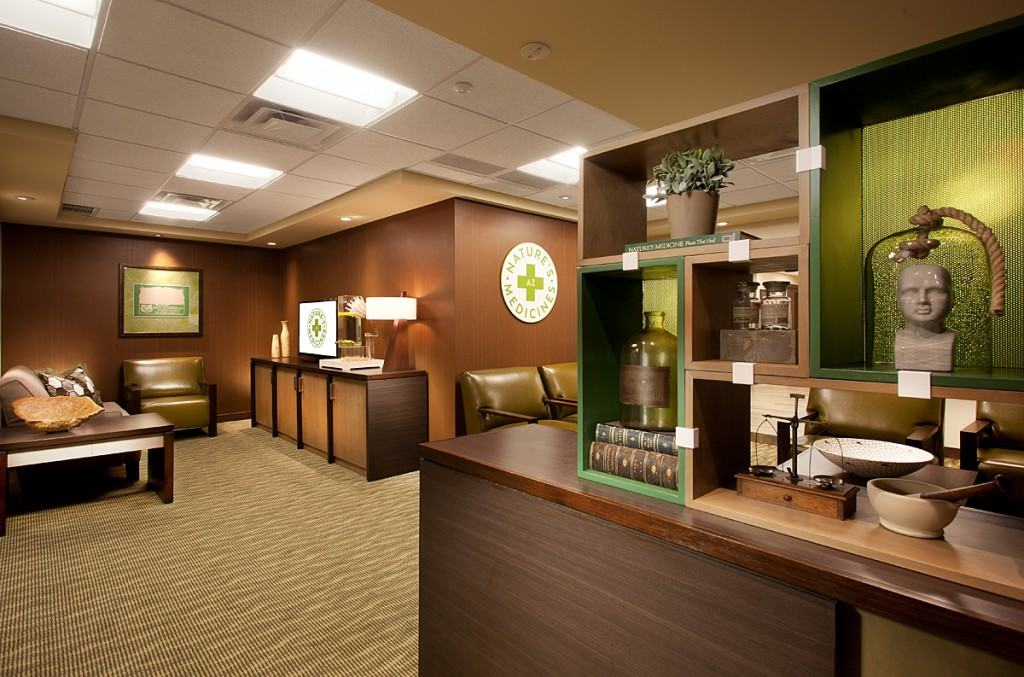 Fountain Hills Lobby, courtesy of www.AZmarijuana.com