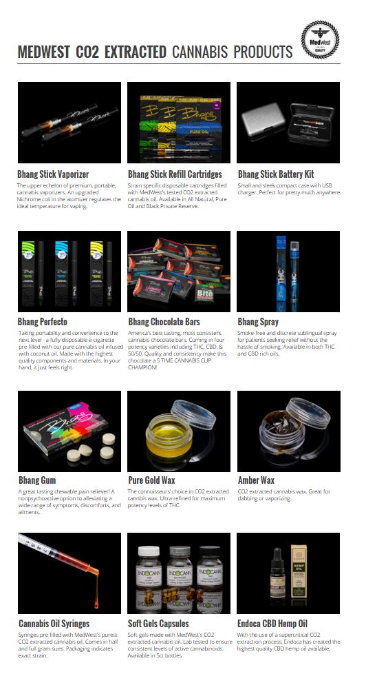 medwest bhang products