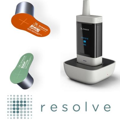 resolve digital health breeze inahler and pods
